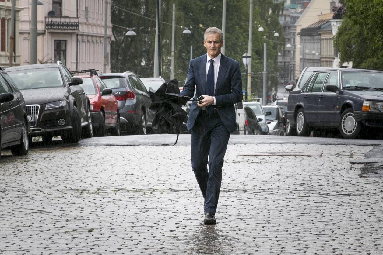 Ap får 34,8 prosents oppslutning på målingen Respons har laget for Aftenposten. Foto: