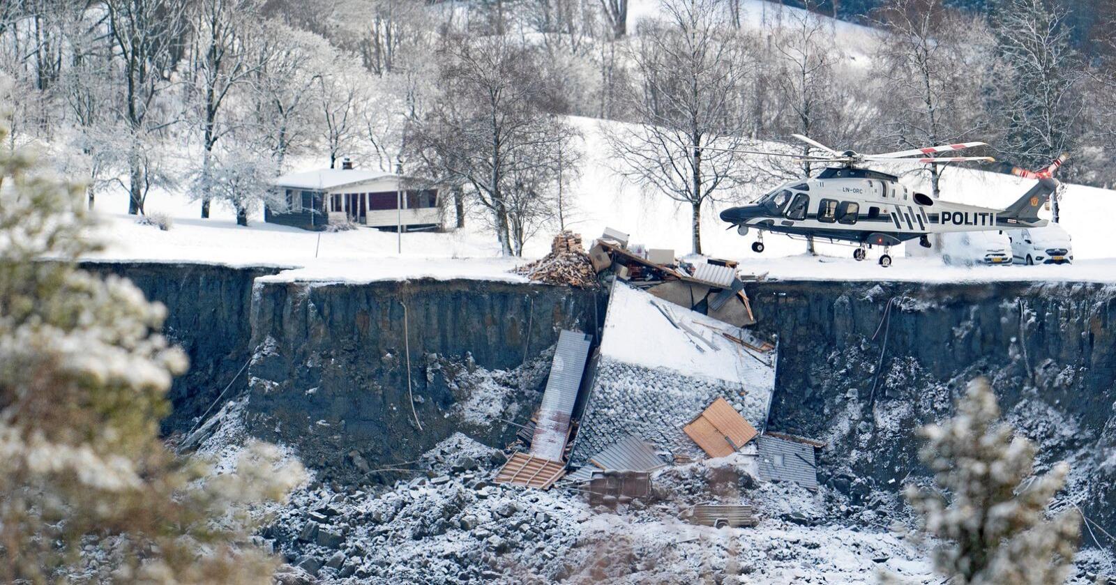 Kvikkleireskredet i Gjerdrum har preget Norge de siste døgnene. Foto: Fredrik Hagen / NTB