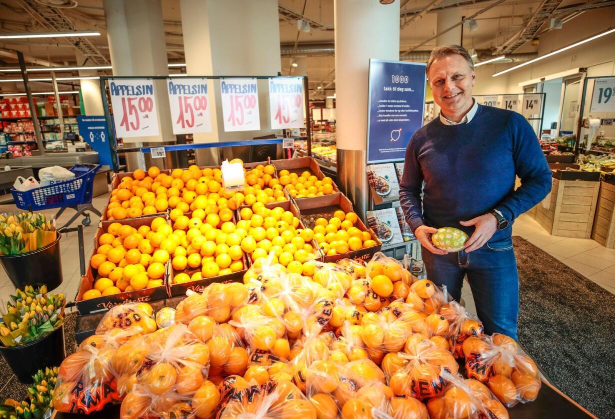 Trond Bentestuen slutter som administrerende direktør i Rema 1000 med umiddelbar virkning. Foto: Lise Åserud / NTB