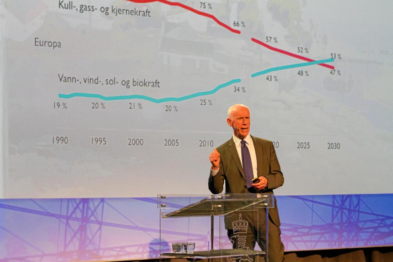 Vil påvirke EU: Vassdrags- og energidirektør Per Sanderud. Foto: Stig Storheil