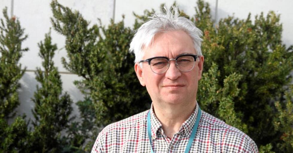 André Skjelstad skryt av jordbruksavtalen, men saknar eit grønt spor. Foto: Lars Billit Hagen