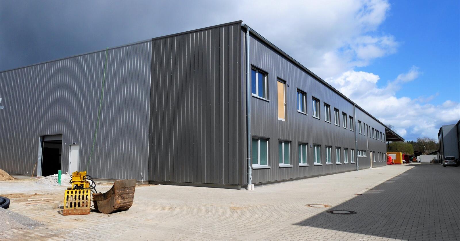 Nybygg: Den tyske produsenten av mekanisk utstyr, bygger nytt for å møte etterspørselen.