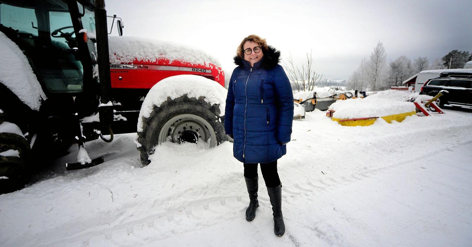 Landbruks- og matminister Olaug Bollestad (Krf) er kåret til landbrukets mektigste. Foto: Siri Juell Rasmussen