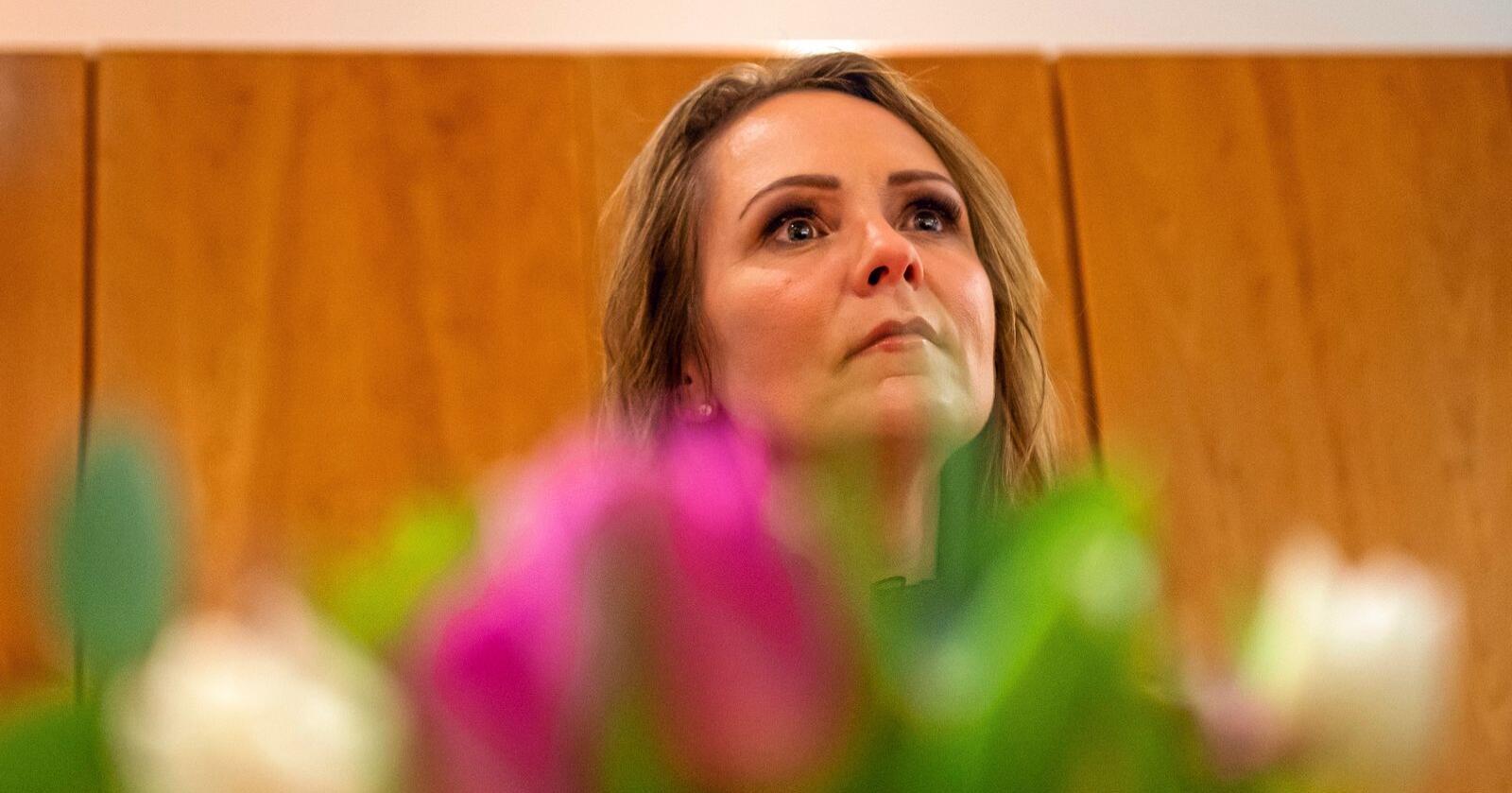 Fergeopprør: Linda hofstad Helleland skriver at noe av det første hun gjorde som distriktsminister var å ta kontakt med de ledende folkene i fergedebatten. Foto: Fredrik Varfjell / NTB scanpix.