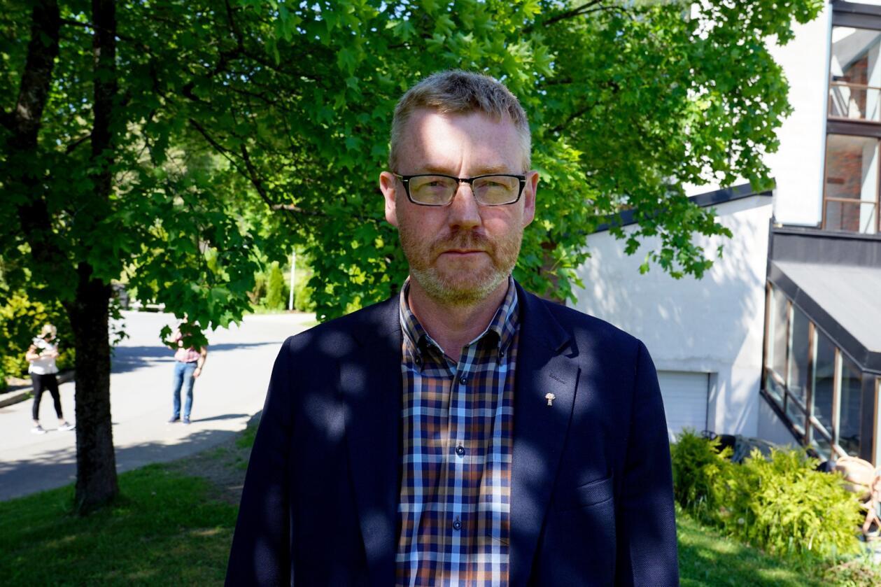 Leder i Norges Bondelag, Bjørn Gimming. Foto: Lars Bilit Hagen