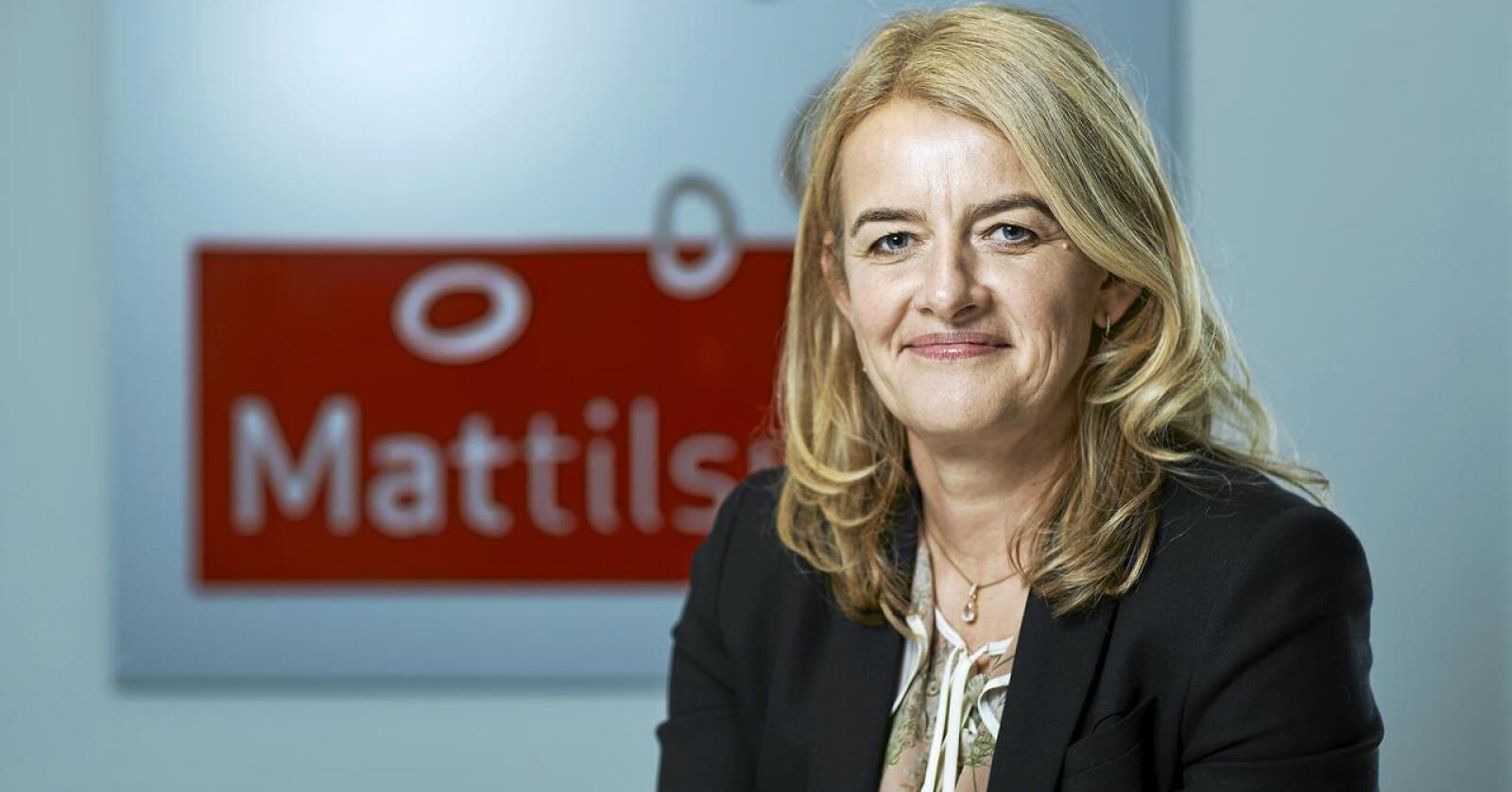 Ingunn Midttun Godal, administrerande direktør i Mattilsynet, roses av anonyme kritikere. Foto: Mattilsynet