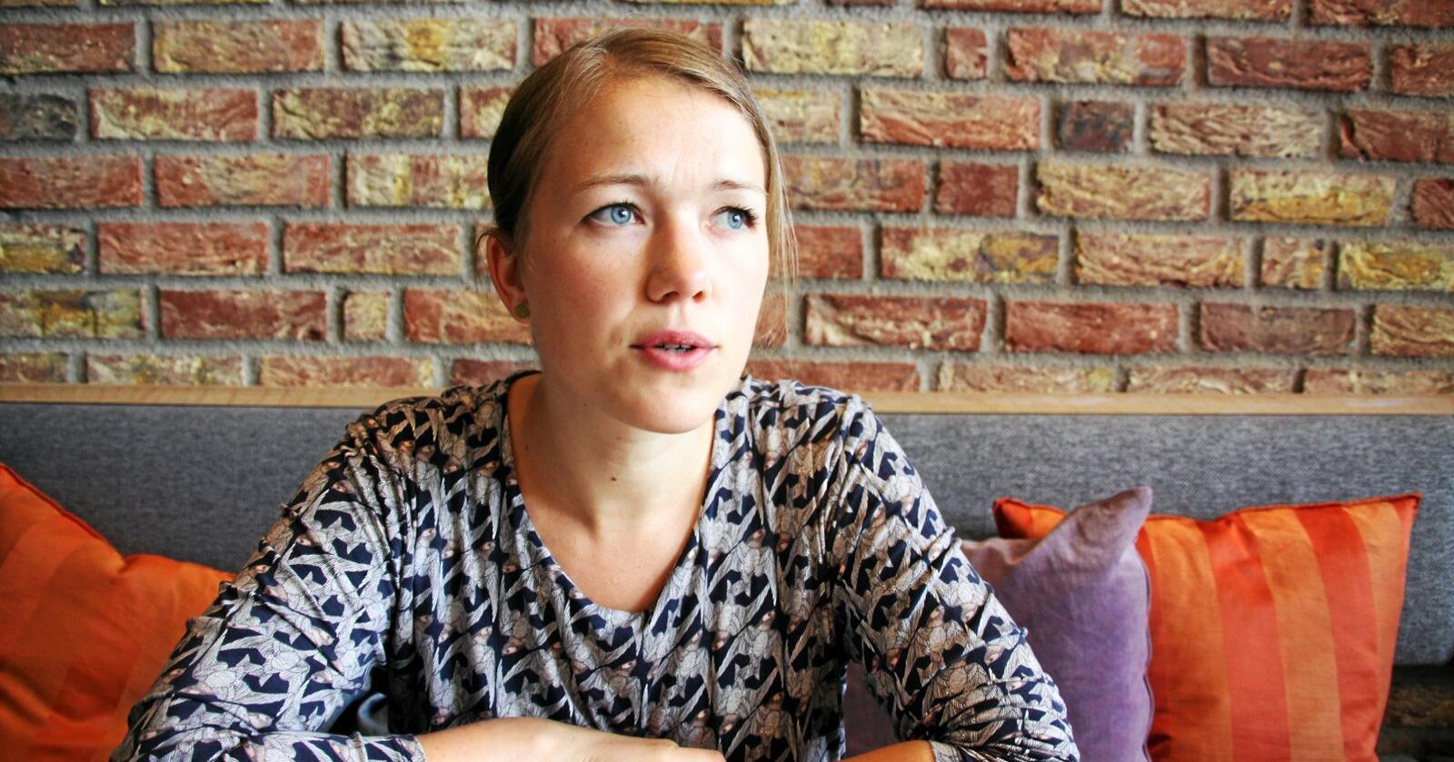 Une Bastholm tror flere partiet ikke vet hva de har gått med på. Foto: Lars Bilit Hagen