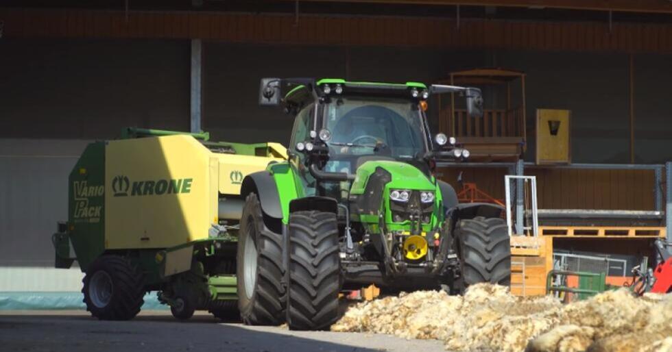 Mye lest: Saken om den kreative Østerrikeren, Roman Berger, er en av årets ti mest leste saker her på traktor.no. Se video av det unike påfunnet i bunnen av saken. (Foto: Agropictures)