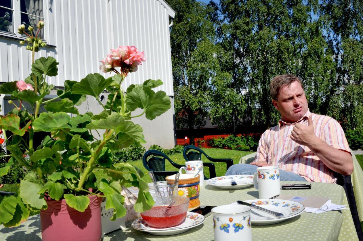 Farlig vei: Bernt Bucher Johannessen i Hanen vil likke at definisjonen av lokalmat skal undergrave forbrukernes forståelse av lokalmat. Foto: Mariann Tvete