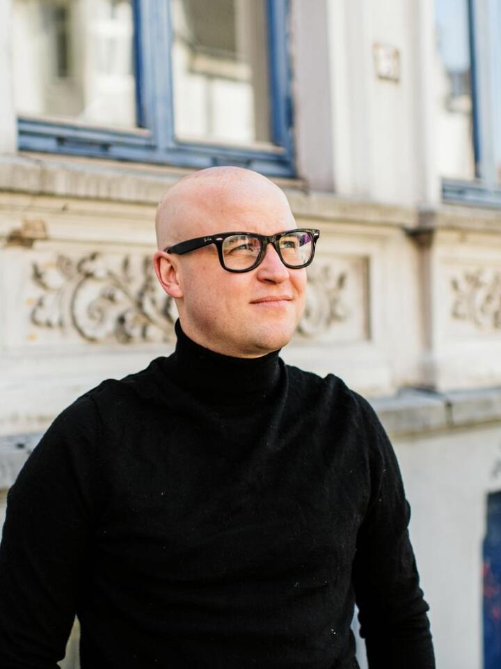 Mållagets nye leiar Peder Lofnes Hauge er frå Gloppen i Nordfjord. Foto: Jannica Luoto / Noregs Mållag