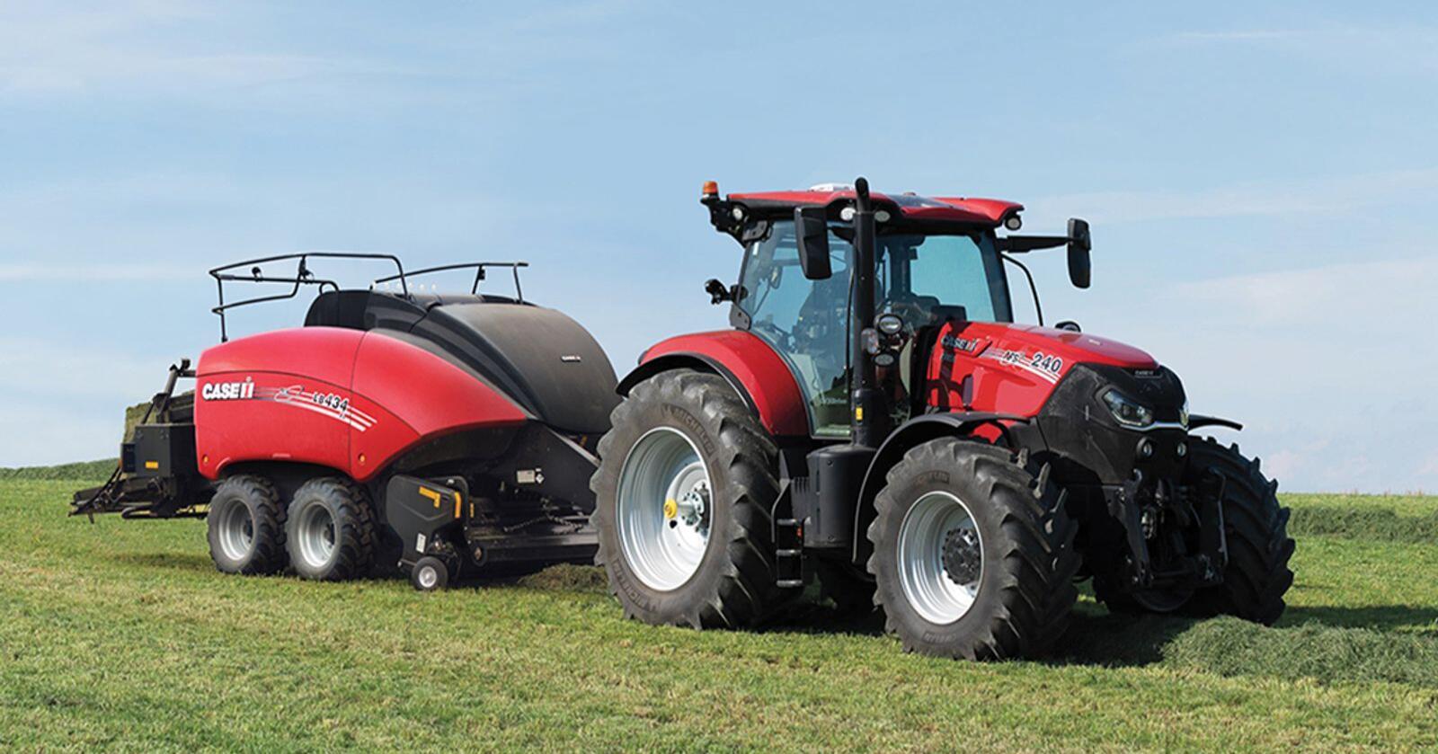 Rødt i tet: Case IH Puma 240 er Danmarks mest solgte traktormodell så langt i 2021