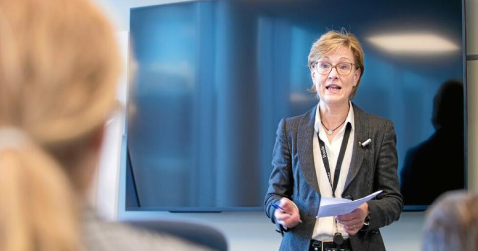 Generalsekretær Sigrid Hjørnegård i Norges Bondelag. Foto: Vidar Sandnes