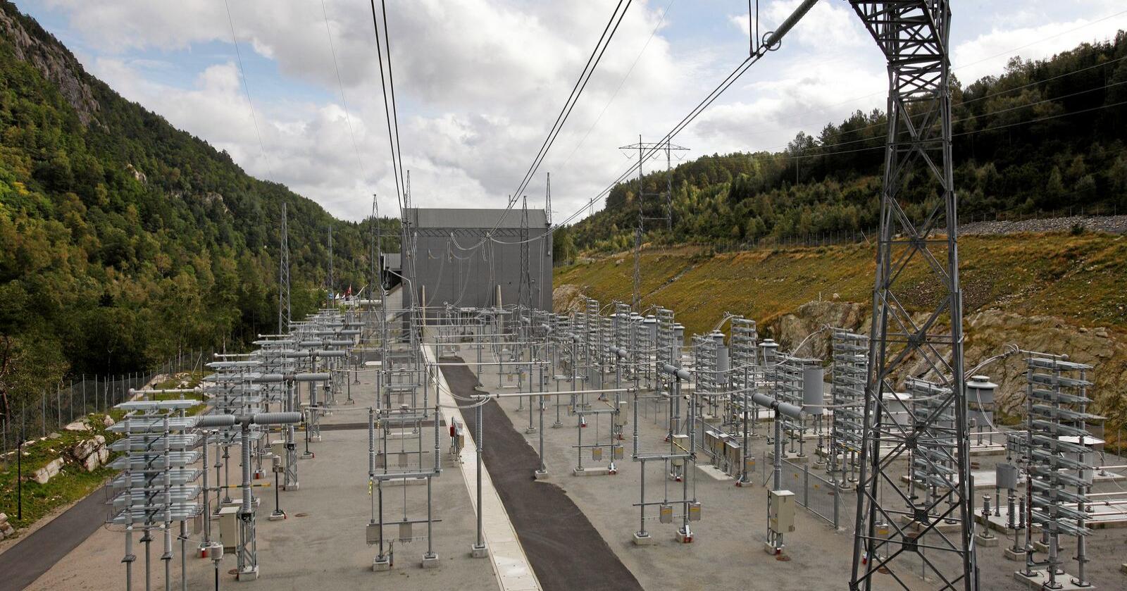 Utenlandskabel: Flere overføringskabler til utlandet kan erstatte fossil energi med norsk, fornybar kraft. Foto: Tor Erik Schrøder/NTB scanpix