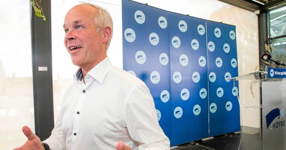 Kunnskapsminister Jan Tore Sanner (Høyre). Foto: Terje Pedersen / NTB scanpix