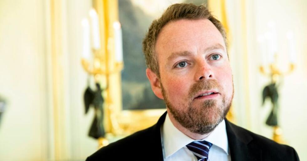 Dropper EFTA-møter: Det er underlig at nærings- og handelsminister Torbjørn Røe Isaksen og de tre andre handelsministrene i EFTA bestemmer seg for at det bare skal være ett ministermøte i året. Foto: Berit Roald / NTB scanpix