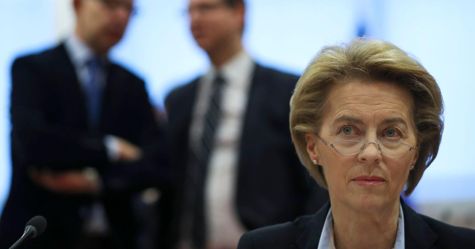 Ursula von der Leyen mistet søsteren sin til kreft. Tirsdag lanserer hun EUs nye plan for å bekjempe sykdommen som står for hvert fjerde dødsfall i EU. Arkivfoto: Francisco Seco / AP / NTB scanpix