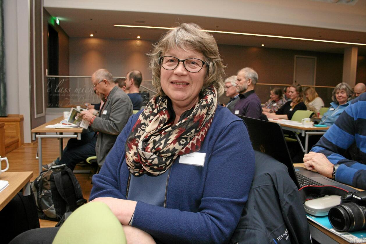 Sluttar: Tone Våg gir seg etter fire år som styreleiar i Norsk Sau og Geit. Foto: Bjarne Bekkeheien Aase
