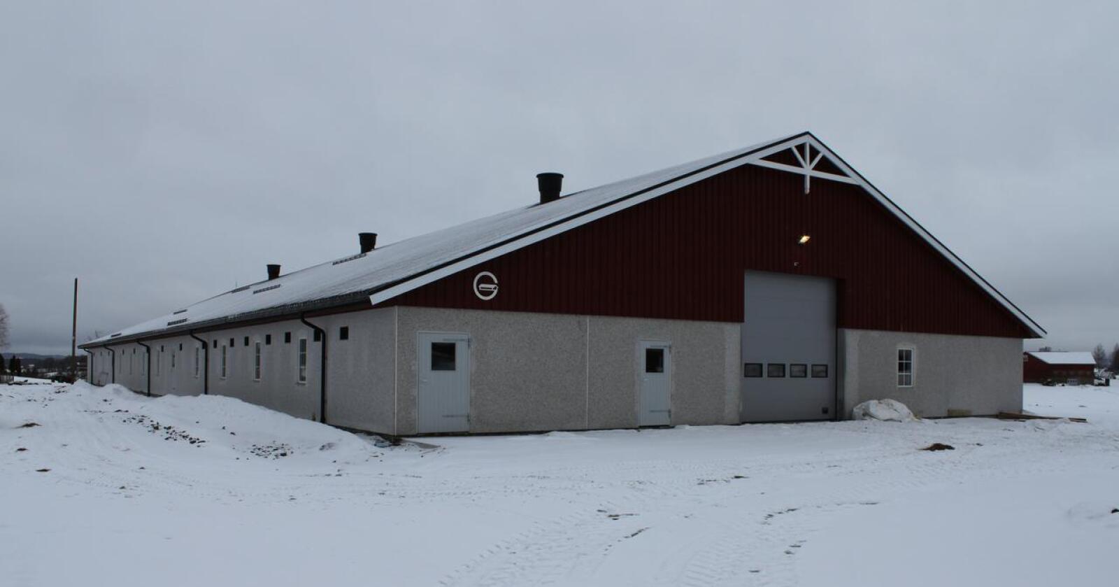 BYGGEPROSJEKTER: Gråkjær skal for tiden ha 12 pågående byggeprosjekter i Norge. Arkivfoto: Norsk Landbruk