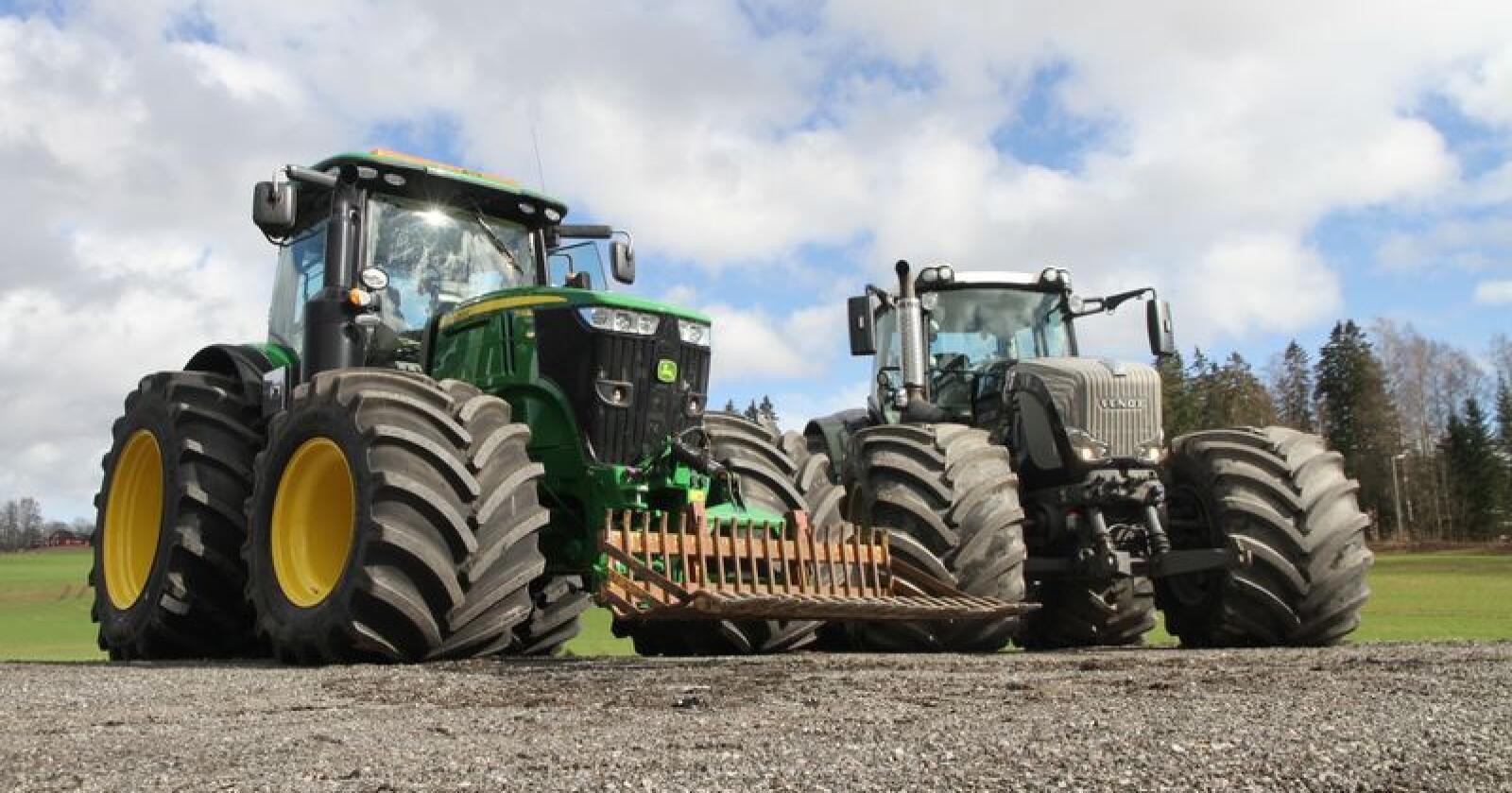 Arkivfoto: Traktor