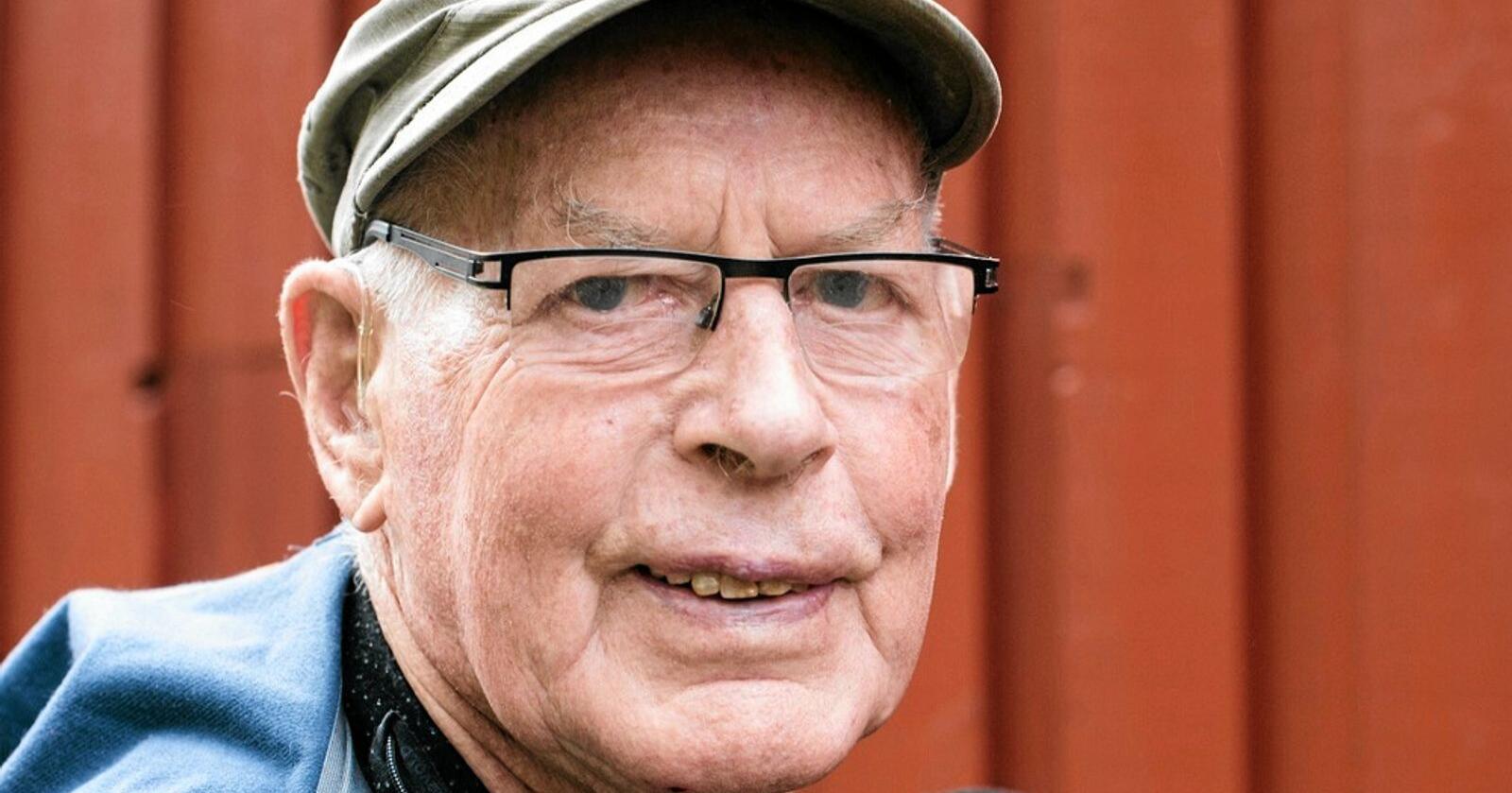 Har gått bort: Ole Fatland var i aktivt arbeid til han var 75 år, men han så verdien i at neste generasjon fikk overta i rett alder. Foto: Fatland