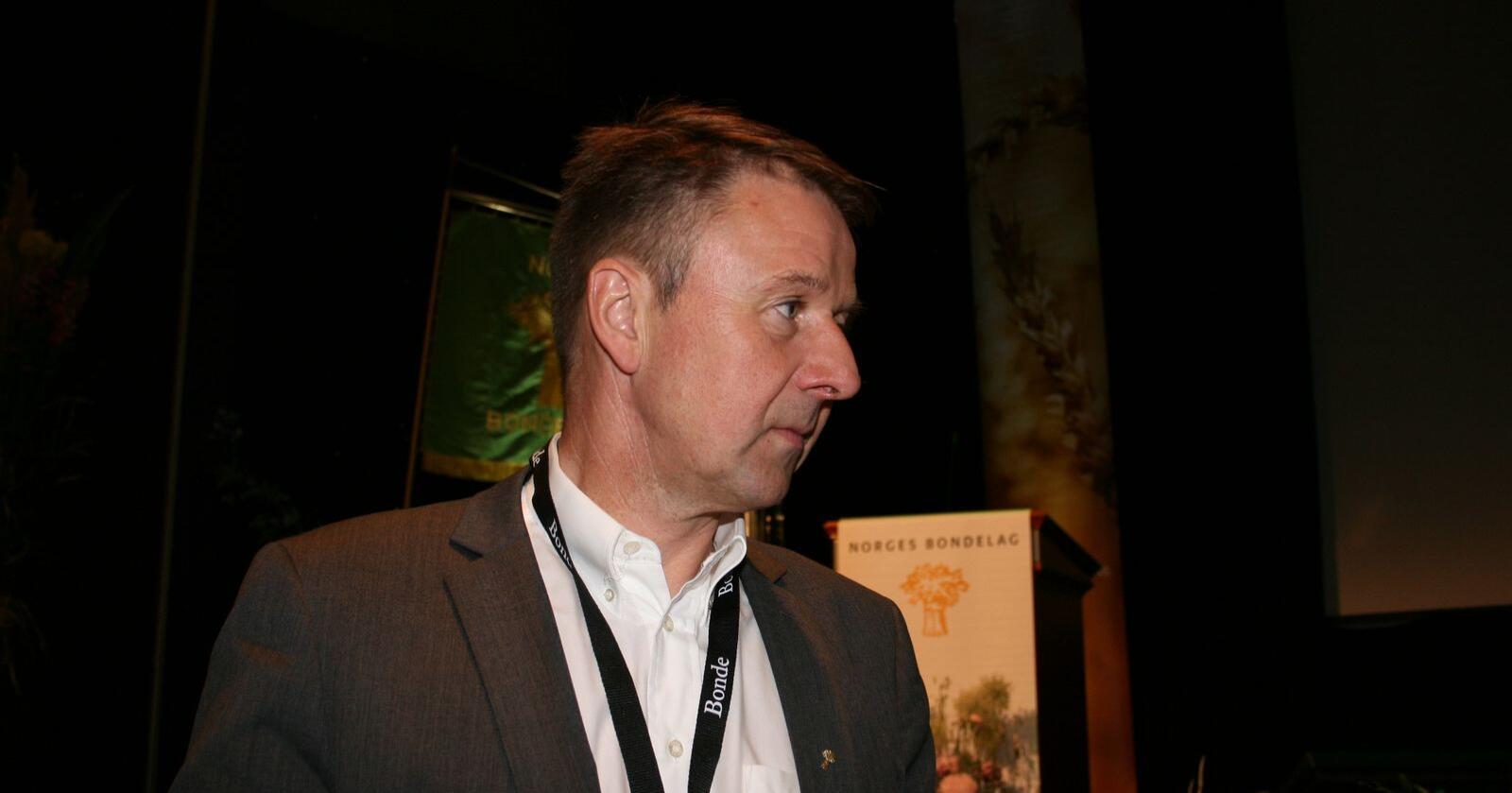 Bondelagsleder Lars Petter Bartnes kan få ny rolle i lokalpolitikken, skriver Trønder-Avisa. Foto: Bjarne Bekkeheien Aase