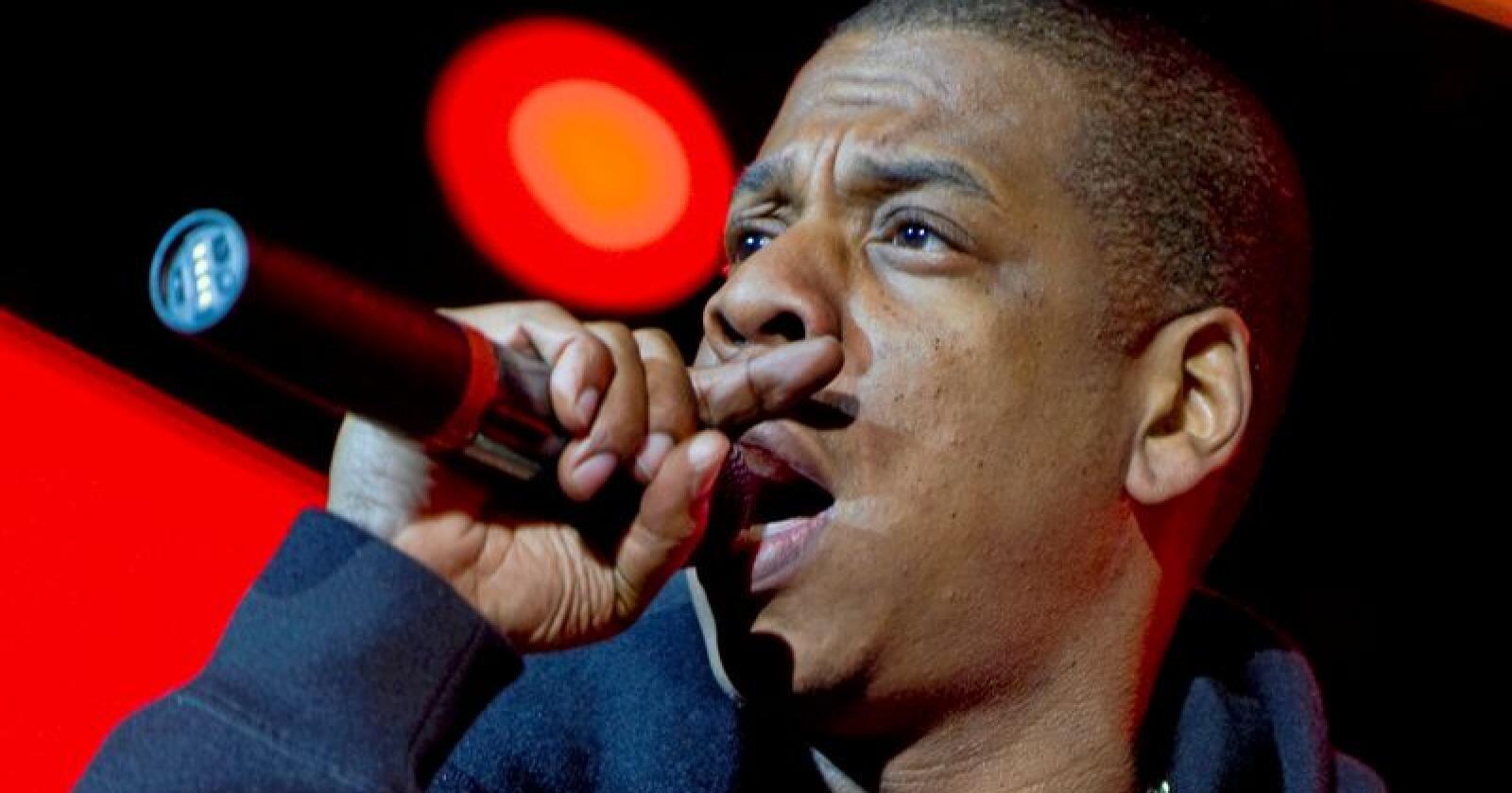 Verdensstjernen Jay-Z som er gift med Beyoncé vil satse på marihuana. Foto: Claudio Bresciani / SCANPIX