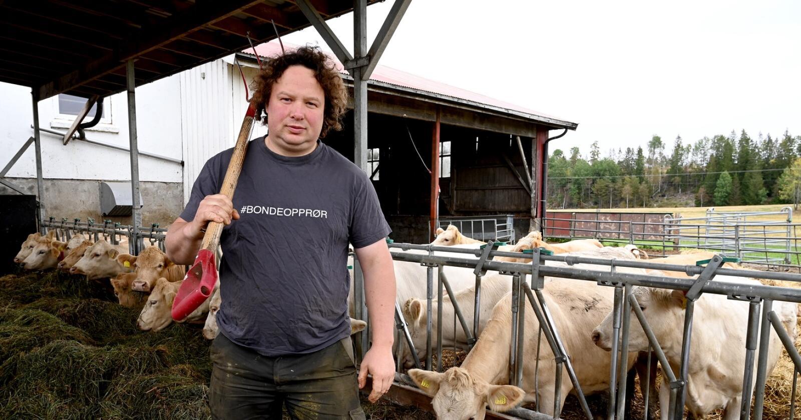 Tor Jacob Solberg har store forventninger til den nye regjeringen. Foto: Mariann Tvete