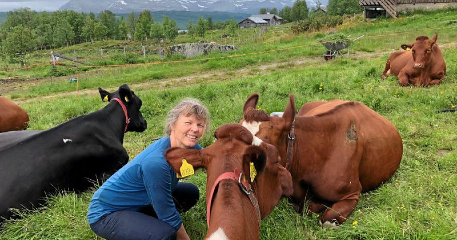 Kjersti Hoff, leder i Norsk Bonde- og Småbrukarlag. Foto: Privat