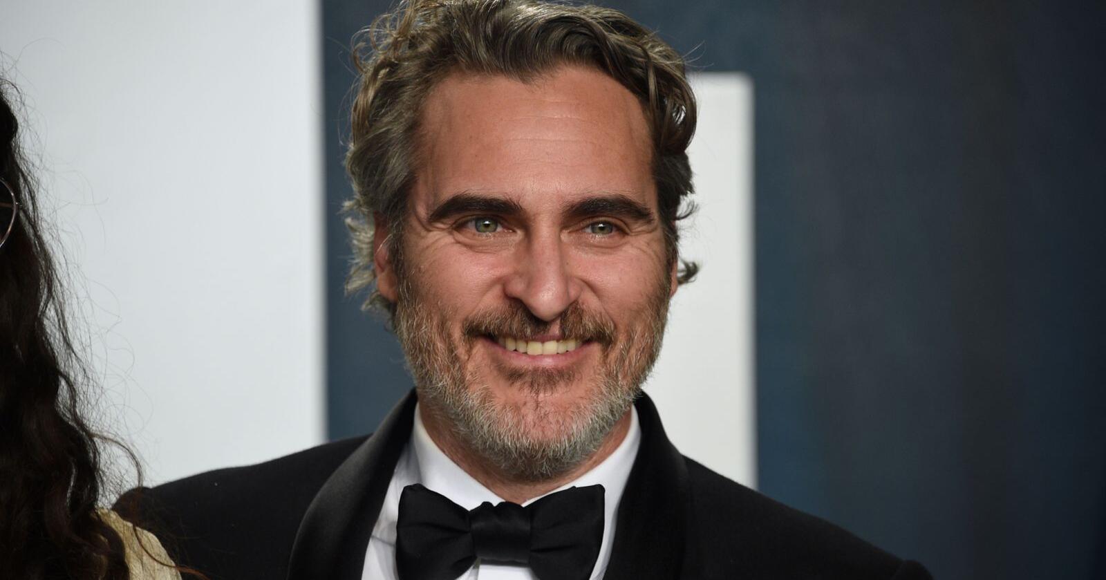 Skuespiller Joaquin Phoenix ut mot kjøttindustrien. Foto: Evan Agostini/Invision/AP