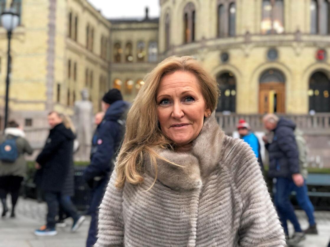 Kommunikasjonssjef i Noregs pelsdyralslag, Guri Wormdahl. Foto: Line Omland Eilevstjønn