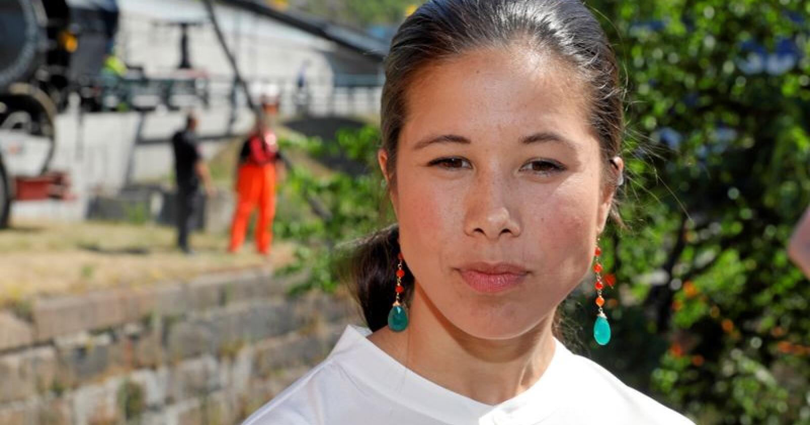Hetses: Byråd Lan Marie Berg. Foto: Ole Berg-Rusten/NTB scanpix