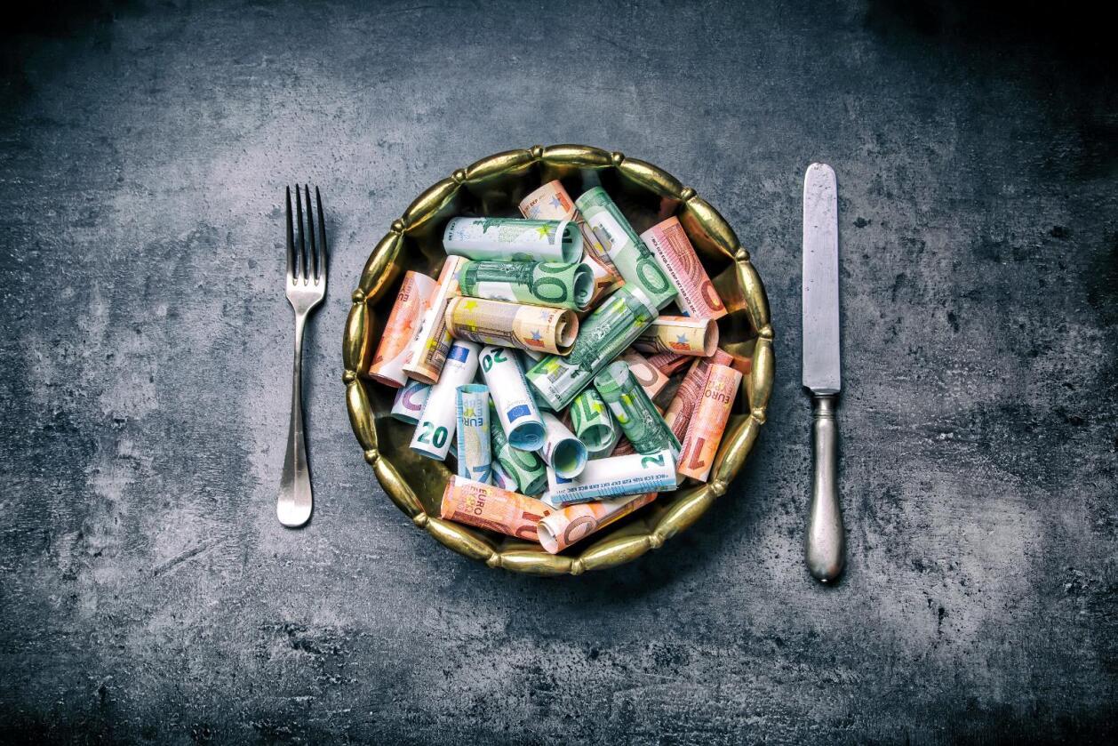Svindel: Årleg utgjer matsvindel og matjuks verdiar for godt over 200 milliardar norske kroner. Svindelen har vorte big business globalt, skriv Hilde Lysengen Havro. Foto: Colourbox