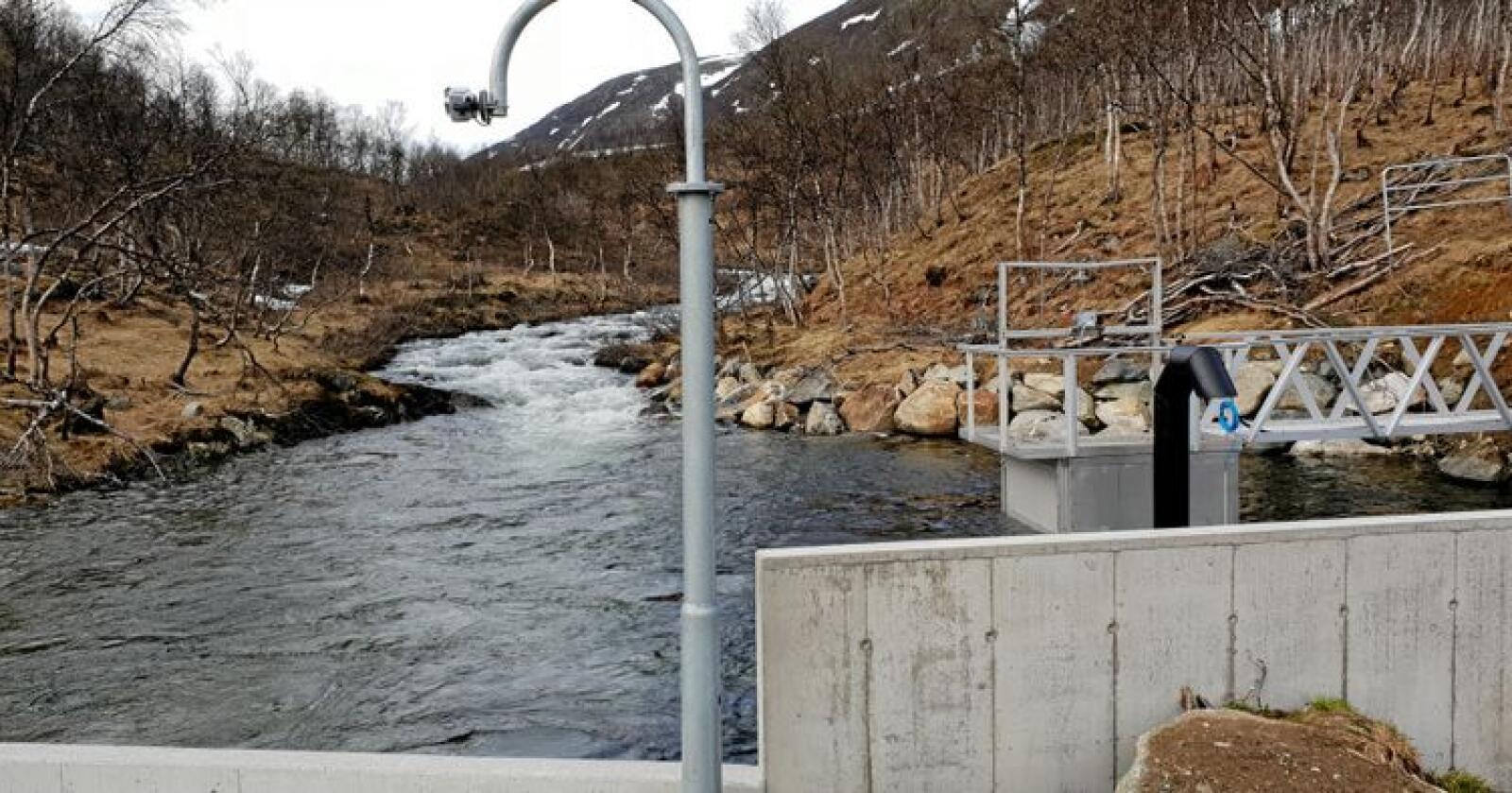 Småkraft: Mjeldeelva i Troms. Foto: Småkraft AS
