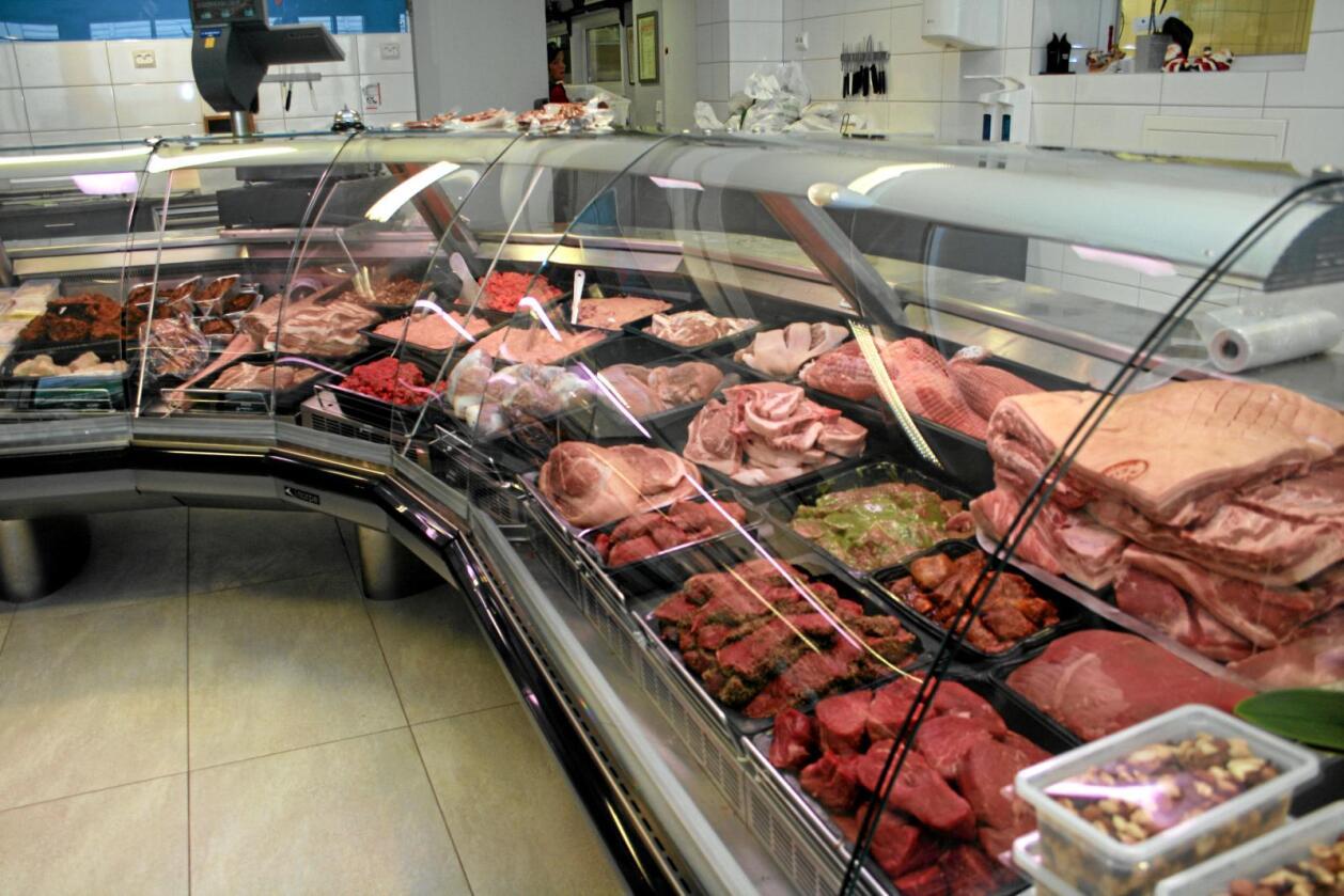 Kutter: En økende andel av unge svensker velger bort kjøtt, enten i form av at de spiser vegetarisk i blant eller at de utelukkende er vegetarianere. Foto: Bjarne Bekkeheien Aase