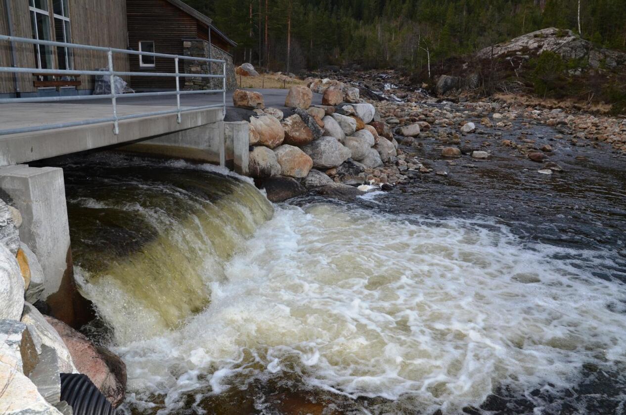 Samtidig med at Småkraft og Norsk Grønnkraft fusjoneres, etableres Småkraft Utbygging AS som et spesialisert selskap for bygging og rehabilitering av små vannkraftverk. (Arkivfoto)