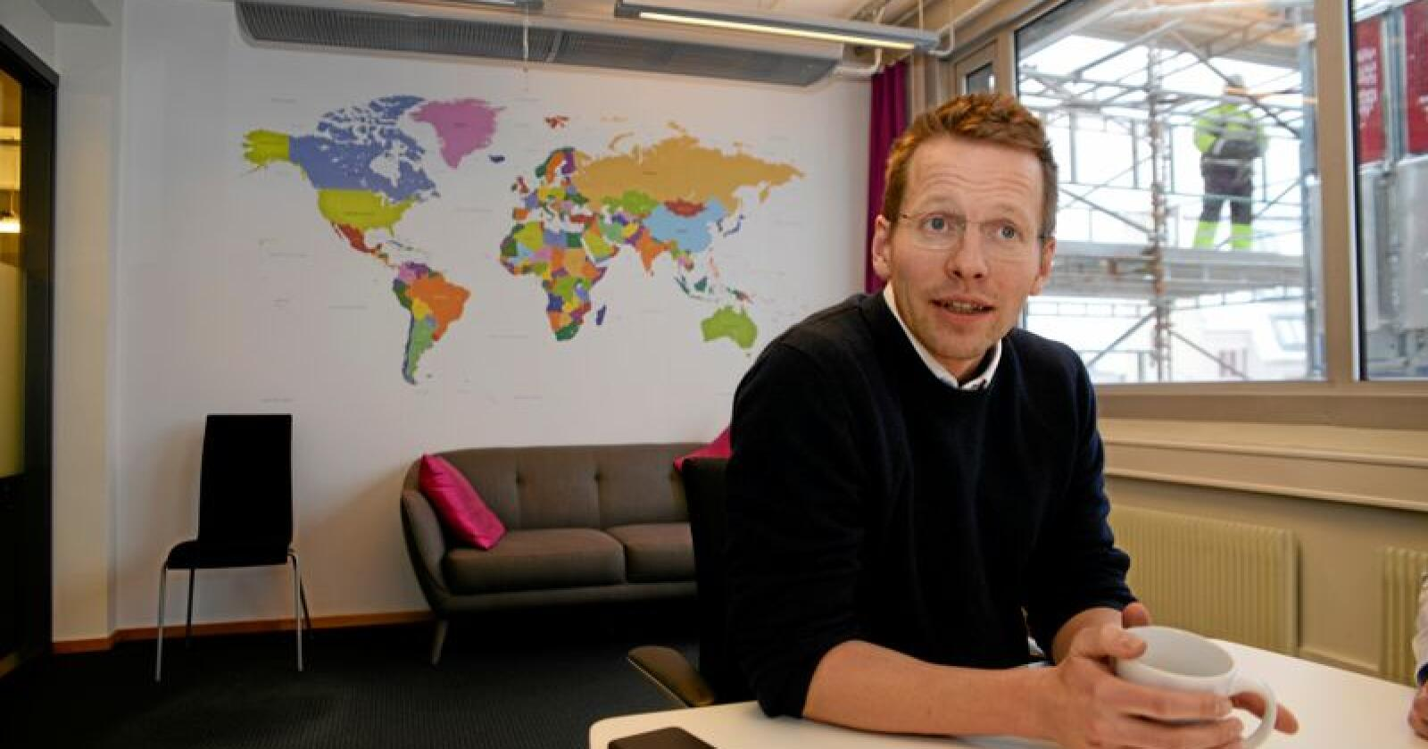 Trygve Svensson seier positive haldningar til EØS-avtalen ikkje må bli ei sovepute.