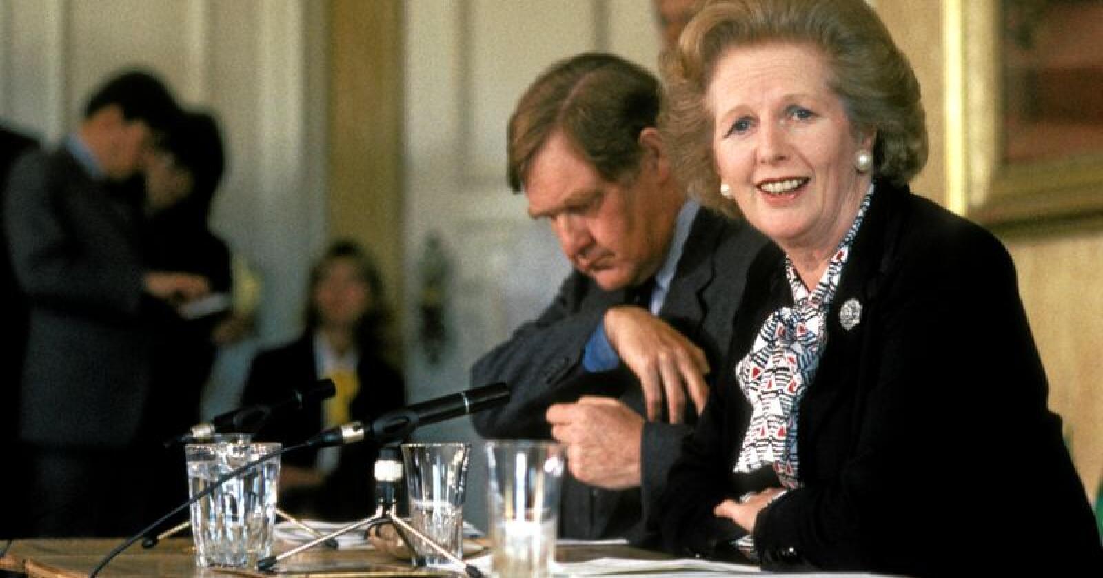 Margaret Thatcher: Slett ingen integrasjonist, skriver kronikøren. Foto: Bjørn Sigurdsøn/NTB Scanpix