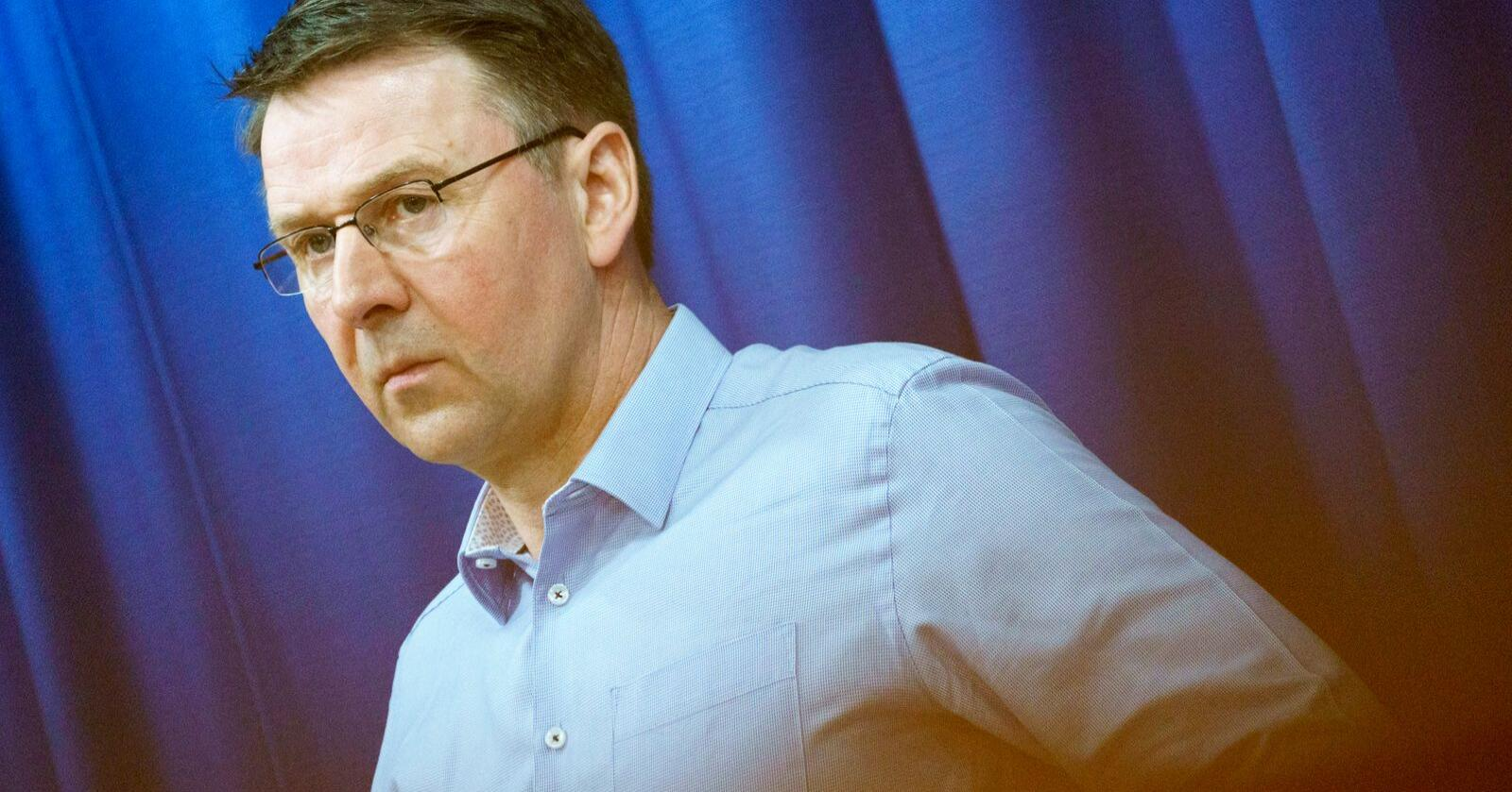 Leder i Norges Bondelag, Las Petter Bartnes. Foto: Torstein Bøe / NTB