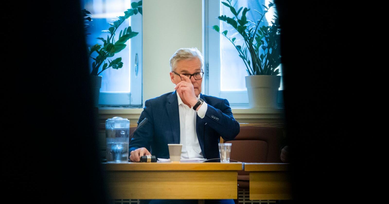 Hans Andreas Limi er parlamentarisk leder for Fremskrittspartiet i Stortinget. Foto: Håkon Mosvold Larsen / NTB scanpix