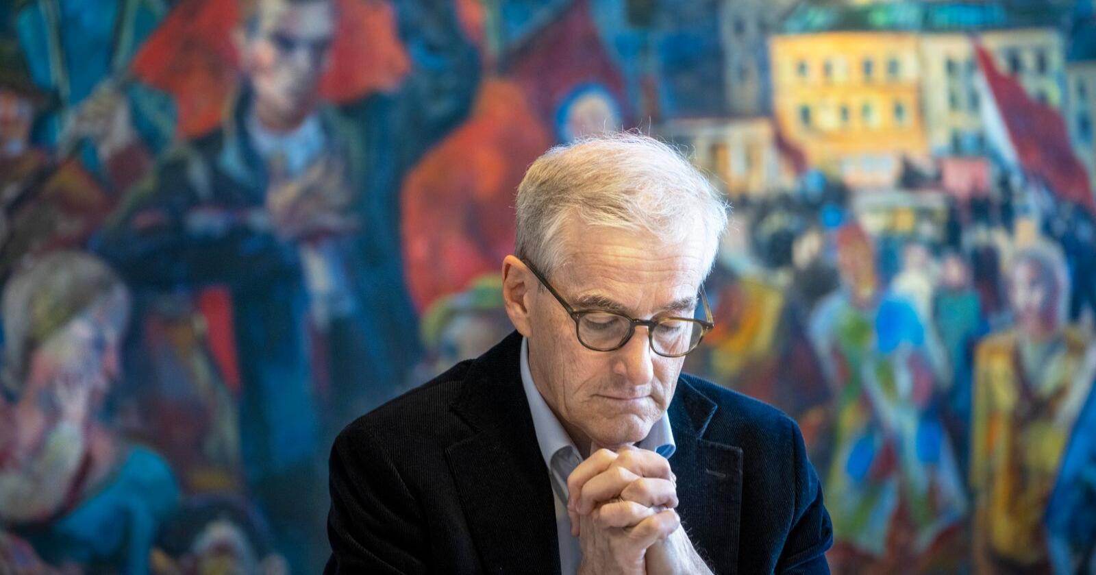 Arbeiderpartiets leder Jonas Gahr Støre vil løfte fram kampen mot økende ulikhet som en hovedsak i valgkampen. Foto: Ole Berg-Rusten / NTB