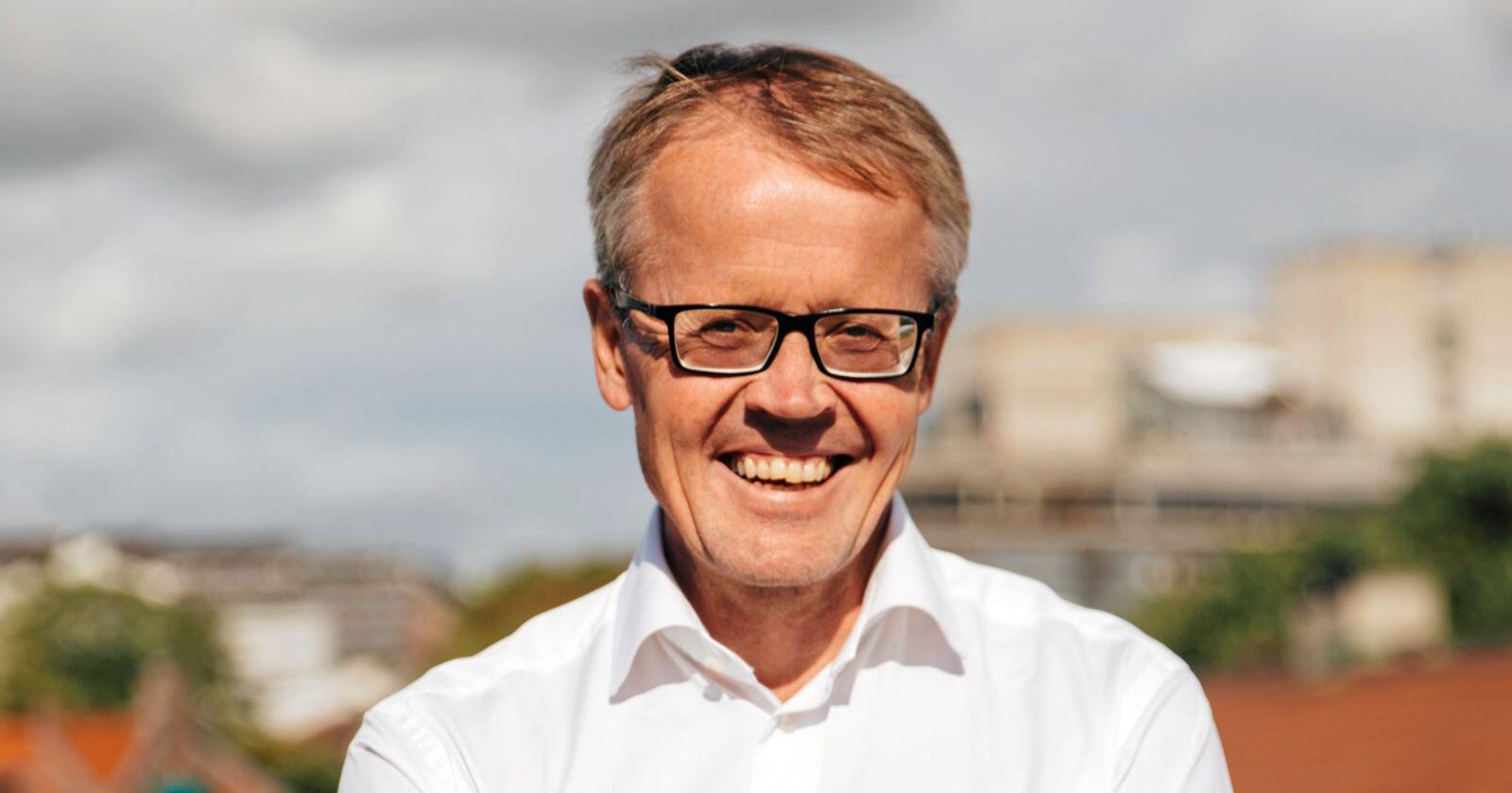 Slår tilbake: Administrerende direktør Ola Hedstein i Norsk Landbrukssamvirke. Foto: Norsk Landbrukssamvirke