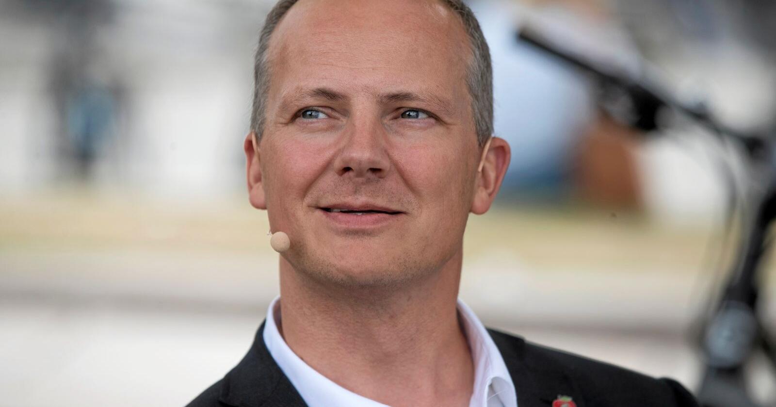 Svarer: Ketil Solvik-Olsen (Frp) svarer på kritikk i Nationen. Foto: Terje Pedersen / NTB