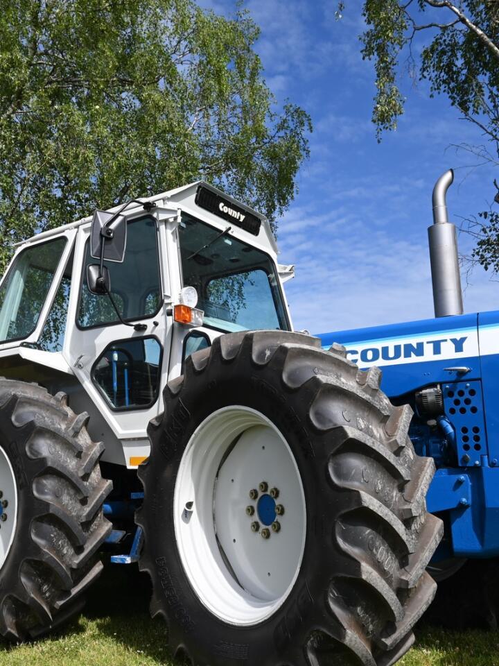 County: Ford County har en spesiell plass blant mange entusiaster og var godt representert. Dette fantastiske eksemplaret ser helt ny ut.