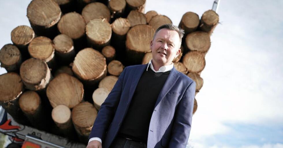 Olav Veum er styreleder i Norges Skogeierforbund og skogeiersamvirket At Skog. Foto: Benjamin Hernes Vogl