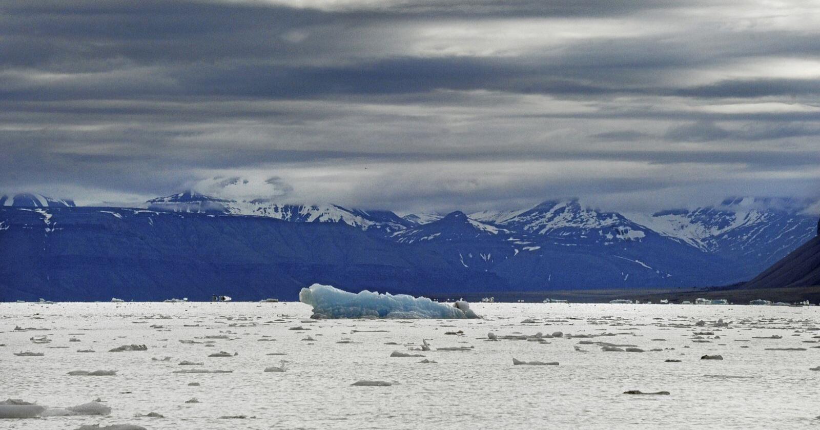 Ikke som før: Svalbard merker klimaendringene. Foto: Siri Juell Rasmussen