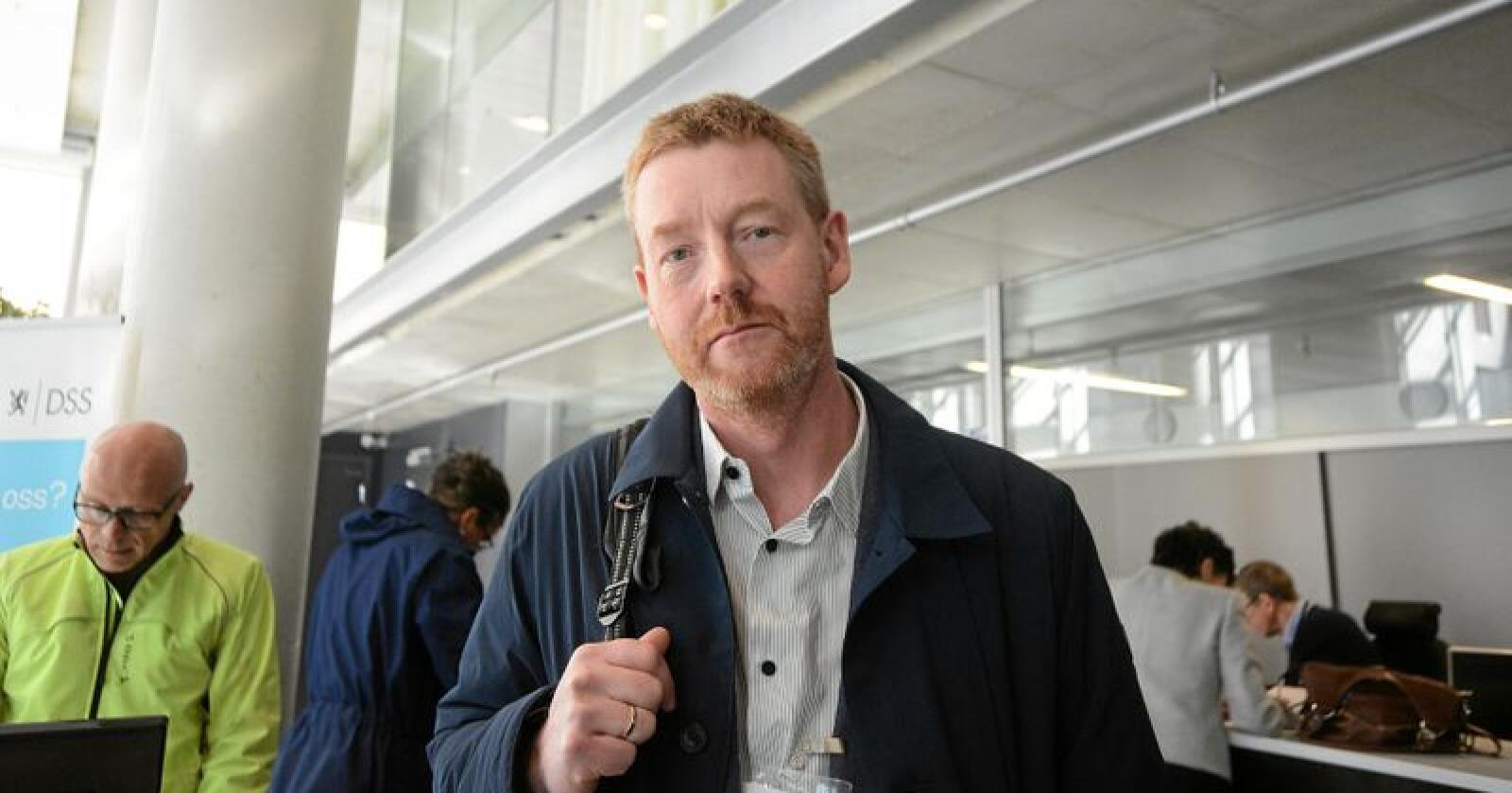 Bjørn Gimming, første nestleder i Bondelaget. Foto: Siri Juell Rasmussen