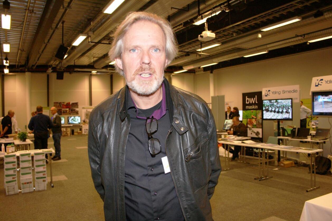 Klimatiltak: Leiar Eystein Ruud i Norsk Gartnerforbund seier norske gartnarar kan bidra kraftig til det grøne skiftet om politikarane legg rammevilkåra til rette. Foto: Bjarne Bekkeheien Aase