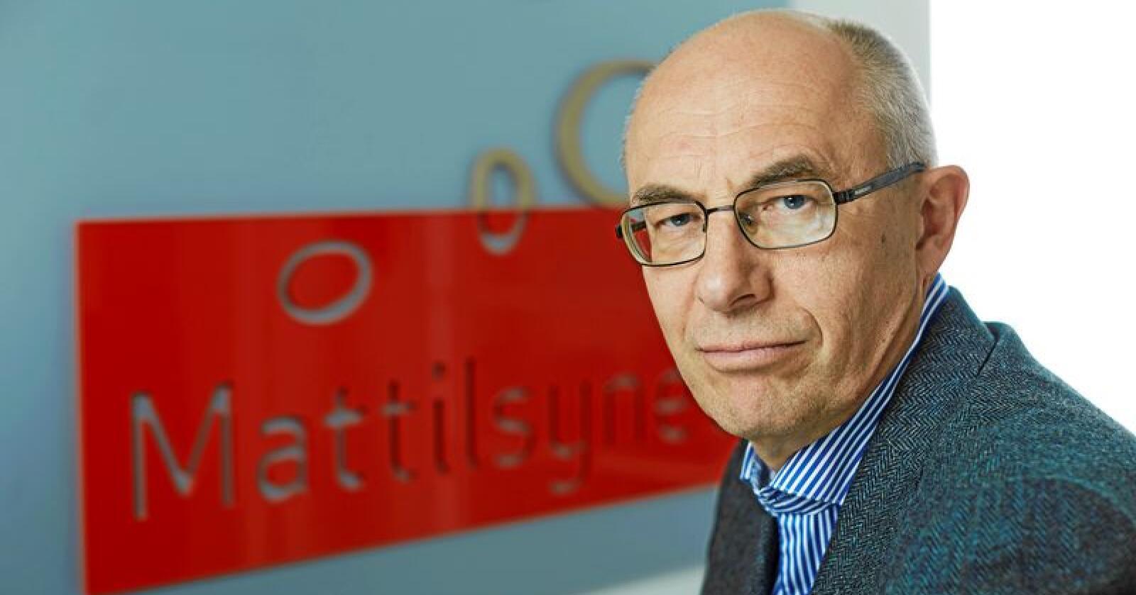 Harald Gjein har vært ansatt i Mattilsynet siden 2011. Foto: Mattilsynet