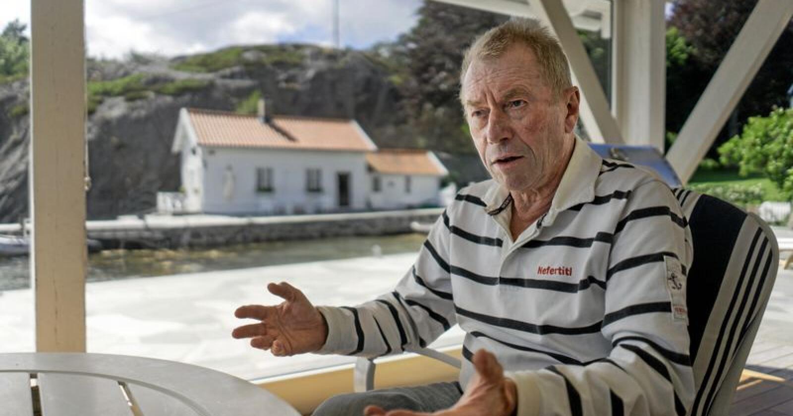 På ville veier? Investor Jens Ulltveit-Moe. Foto: Ketil Blom Haugstulen