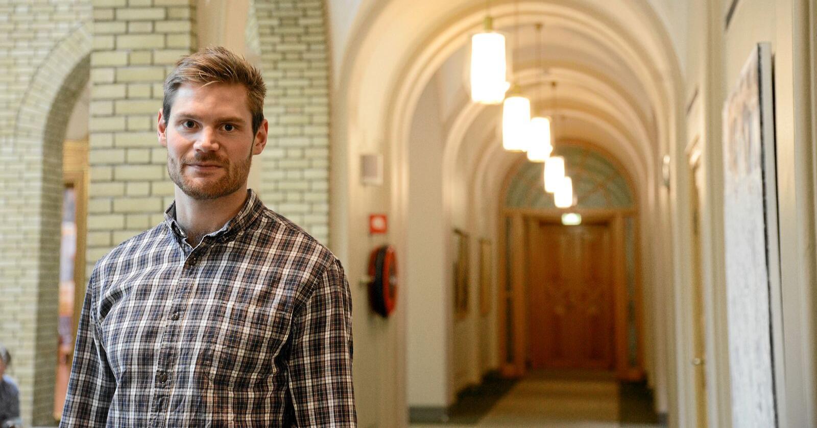 Dårlig politikk: Arbeiderpartiet og Nils Kristian Sandtrøen (bildet) forfekter dårlig landbrukspolitikk i denne saken, skriver Nils P. Hagen. Foto: Siri Juell Rasmussen